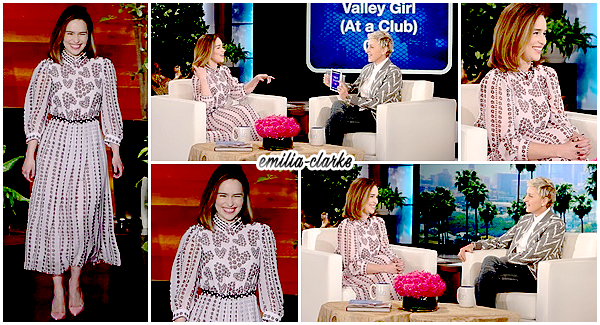 • Talk-Show - The Ellen Show & The Tonight Show with Conan