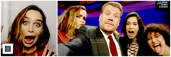 • Talk-Show - The Late Show with James Corden