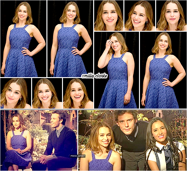 • Event - Me Before You Press Conference