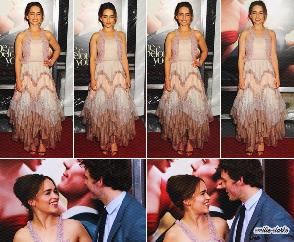 • Event - Me Before You New-York Premiere