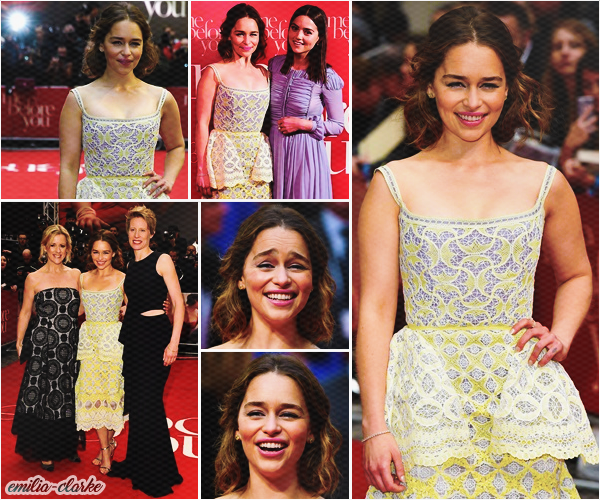 • Event - Me Before You London Premiere