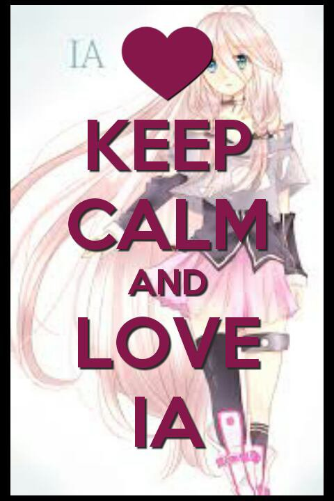 Keep Calm And Love IA