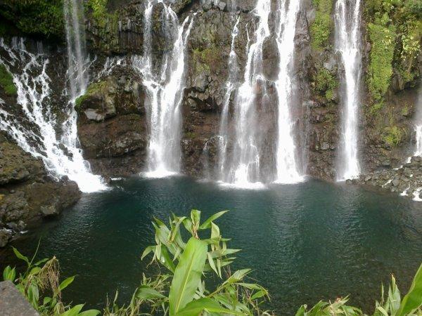 Cascade de la Réunion à langevin