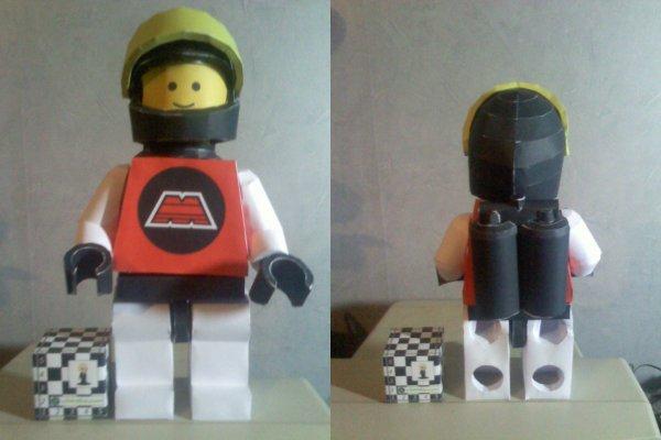 Papercraft - Bonhomme LEGO ESPACE