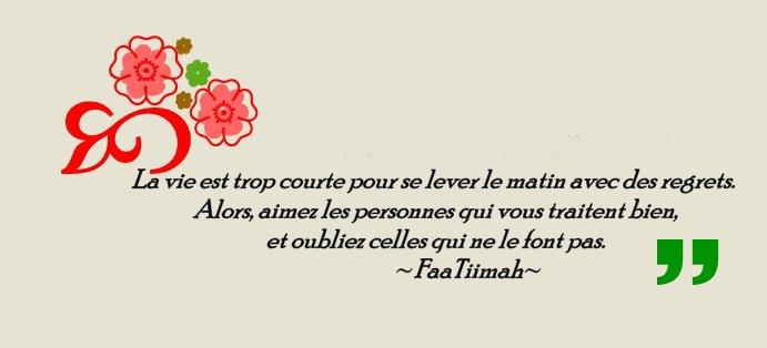 La Vie Est Trop Courte...