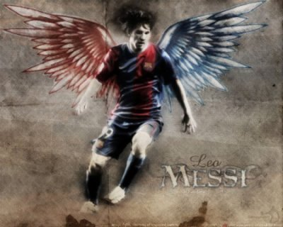 ANGEL OF THE BARçA 2010 MESSI MAN