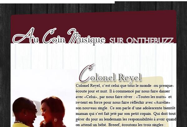 Article quatorzième : Colonel Reyel celui qui fait rêver les filles