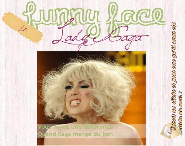 Article trente sixième : Lady Gaga qui est ... comme d'habitude !
