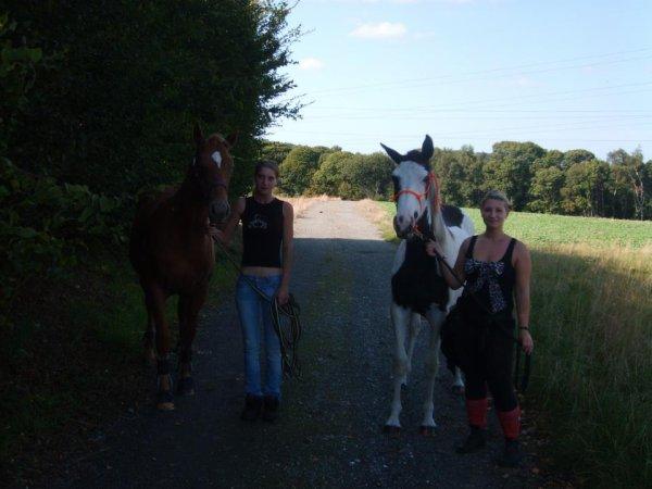 L'équitation: le seul sport individuel qui se pratique à deux. ♥♞