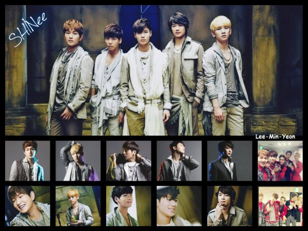 le groupe SHINee (샤이니)