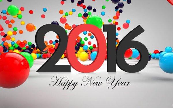 bonne Année 2016 :) happy new year