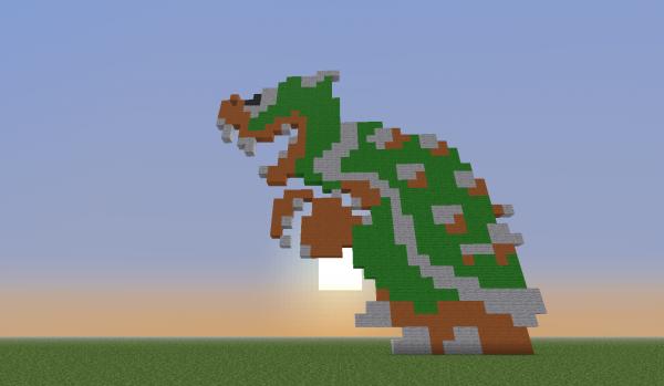 pixel art geant
