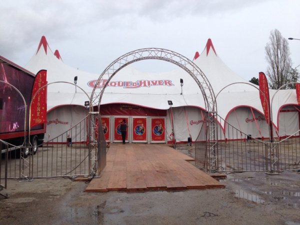 Enfin le cirque Bouglione à Dijon