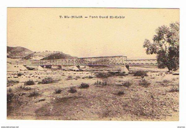 EL MILIA Pont Oued El Kebir