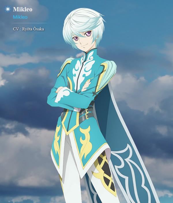 Personnages de Tales of Zestiria