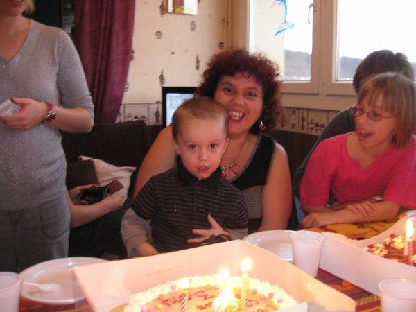 anniversaire de mon petit fils Eythan 3 ans