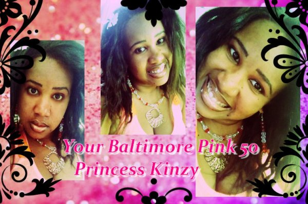La Baltimore Pink de 50 cent - Princess Kinzy