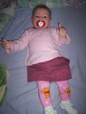 Sa c est une des photo de Zoé bébé !!!