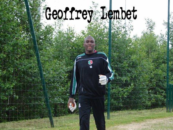 Geoffrey Lembet  Ma fierté  N°5