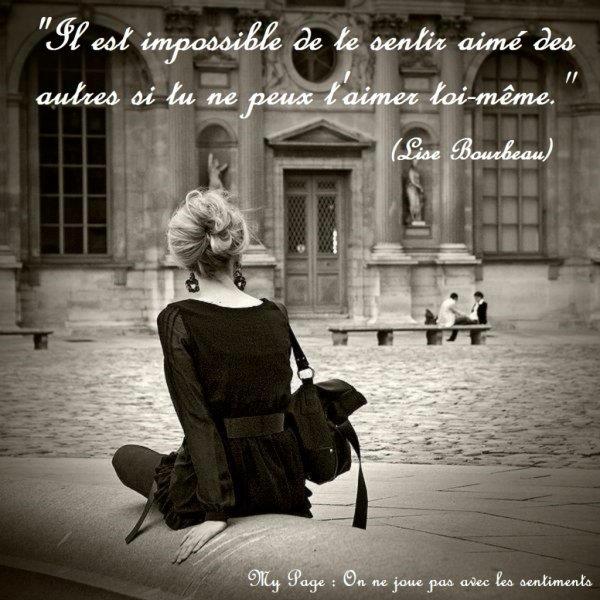 Il est impossible................