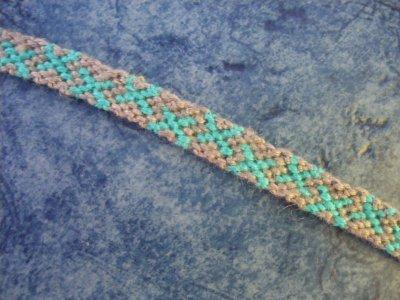 croix n022 bleu turquoise