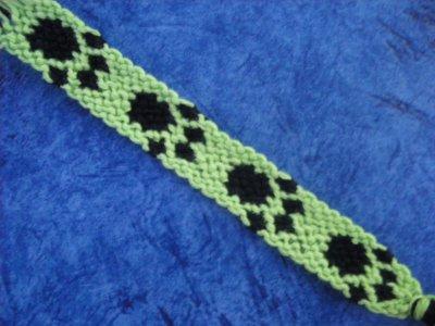 """Bracelet brésilien """"patte de chat"""" N016"""