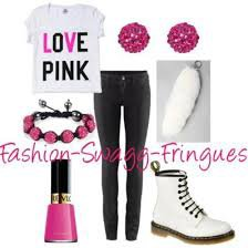 Tenue Swagg Rose !! :)