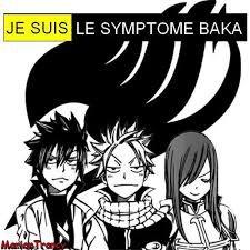je suis le symptôme de tous les baka mouahahaha !!