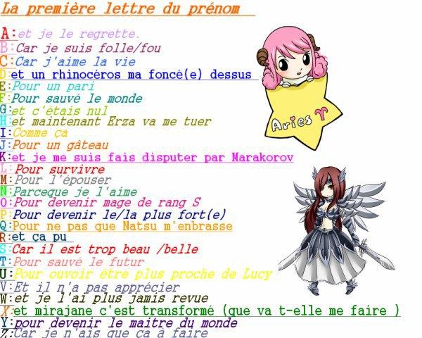p'tit jeux Fairy Tail