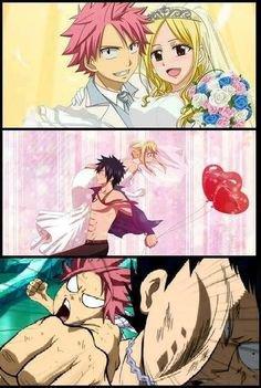 Touche pas à Lucy !!!   #Natsu