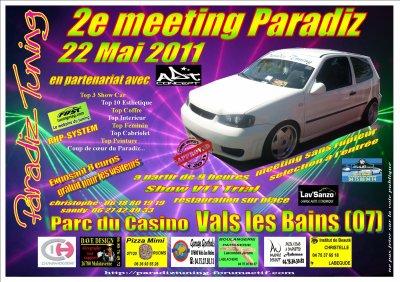 2e meeting paradiz tuning !!! le 22 mai 2011 a Vals les bains(07)