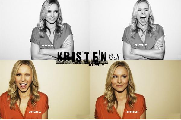 aH me voilà à ma Kristen Bell, il y a quelques jours des photos (on peut dire un shooting) ont été posté sur le site officiel de K.B ! Moi j'adore comme d'habitude, elle est rayonnante, pleine de fraicheur et bien sur très marrante devant l'objectif !  8-p  (texte fait par moi, tu prend, tu crédite)