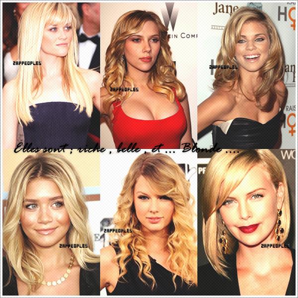 Les Blondes Girls !