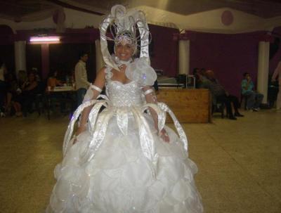 Robe de soiree mariage gitan