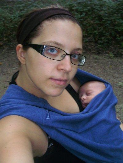 (l) Maman et son baby boy (l)