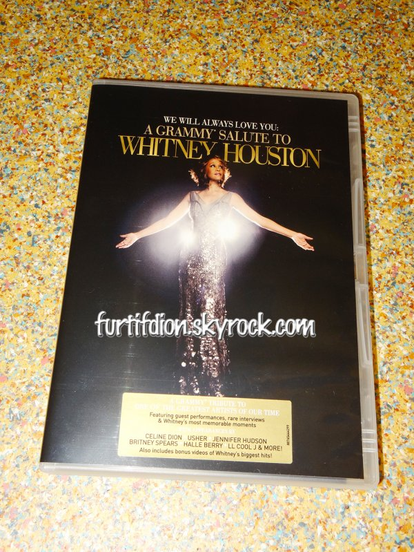 "DVD ""A Grammy Salute to WHITNEY HOUSTON"" (2012)"
