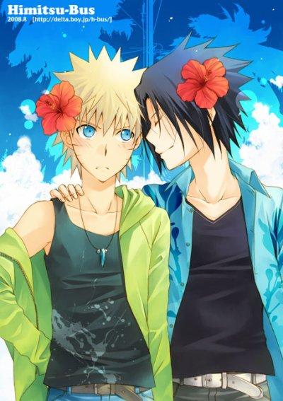 image naruto et sasuke <3