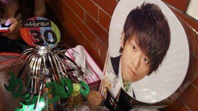 Le restau de Mama Koyama décoré pour l'annif de Keii