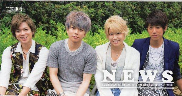 NEWS Fan Club revue n°5 ~été 2013~ NEWS Cross talk