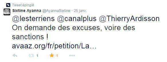 PÉTITION : Des excuses (et des SANCTIONS) de Canal+ !