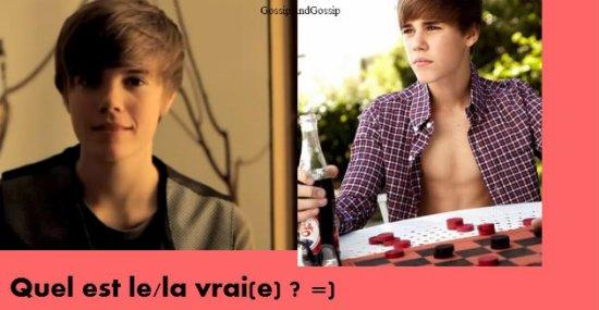 Gossip n° 1. ~Justin Bieber a un sosie. Et c'est...une fille !