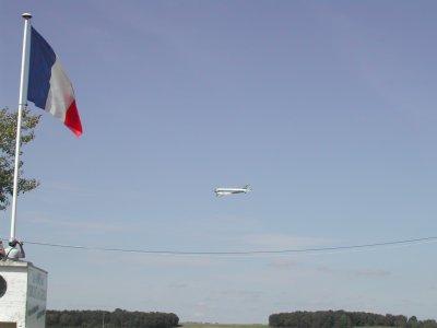 Meeting Aerien 4 ème Week-End de l'Excellence à Gueux         DC3  Air France