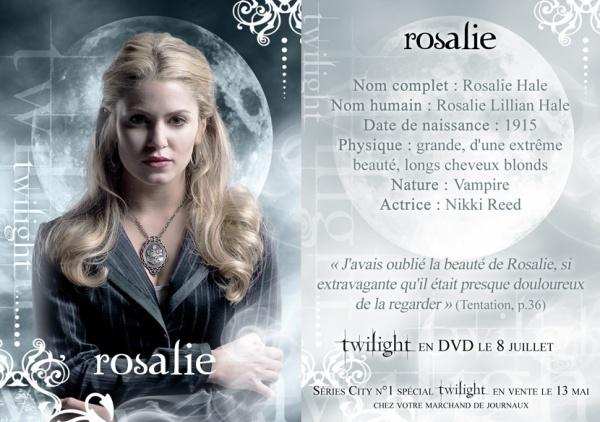 T W 5 ) ROSALIE CULLEN