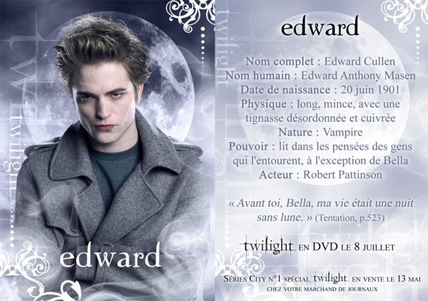 T W 8 ) EDWARD CULLEN