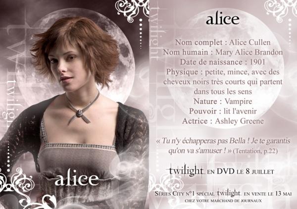 T W 7 ) ALICE CULLEN