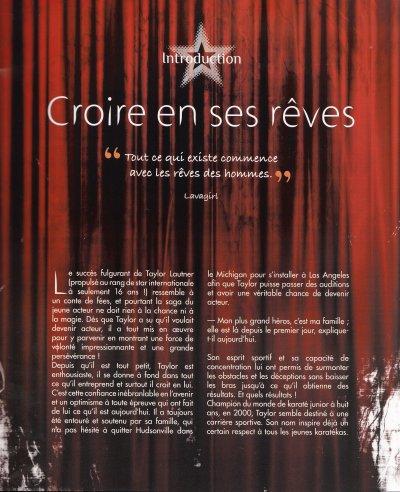 T W 48 ) CROIRE EN SES REVES
