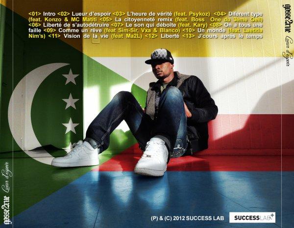 """SORTIE DE L'ALBUM """"LUEUR D'ESPOIR"""" LE 5 OCTOBRE 2012"""