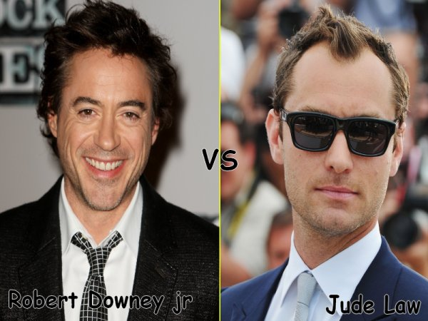 Robert Downey jr VS Jude Law