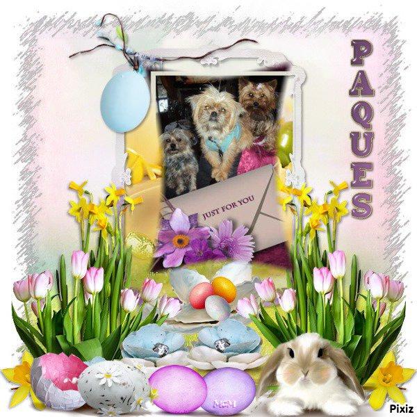 La chasse aux cadeaux !!!! Joyeuses Pâques a tous