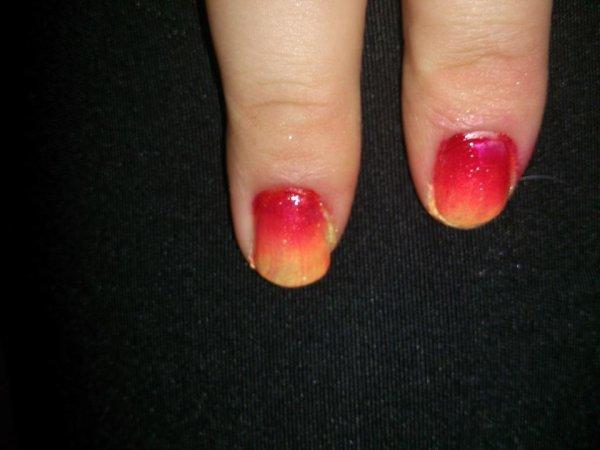 nail art flamboyant